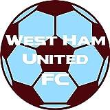West Ham United FC Football 25mm Button Badge