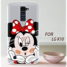 "PREVOA ® 丨LG K10 Funda - Colorful Silicona TPU Funda Cover Case Protictive Carcasa para LG K10 - Smartphone 5.3"" pulgadas - (9)"