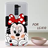 PREVOA  丨 Colorful Silicona TPU Funda Cover Case Protictive Carcasa para LG K10 - Smartphone 5.3'...