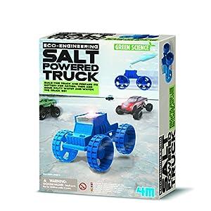 4M- Green Science Camión Energizado con Agua Salada, (403409)