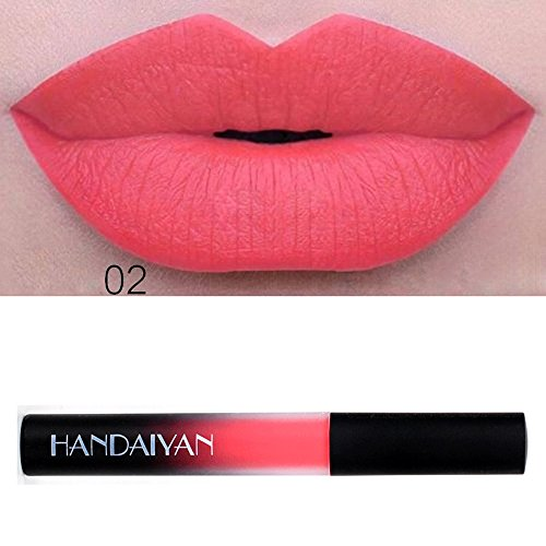 Matte Velvet Lip Gloss Wasserdicht Lippenstift Flüssiger Long-Lasting Make-up Lippenstift (B)
