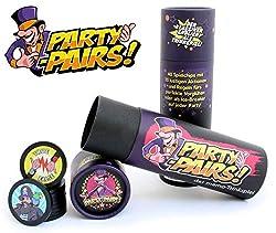 PARTY-PAIRS! Das MEMO Trinkspiel für Kopf und Kehle | Gedächtnis-Trinkspiel | Paare Finden | Partyspiel | Sauf-Spiel | Bier-Spiel | Geschenkidee zum Geburtstag | Festival