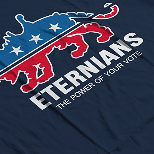 Vote Eternians Battle Cat He Man Women's Vest Navy Blue