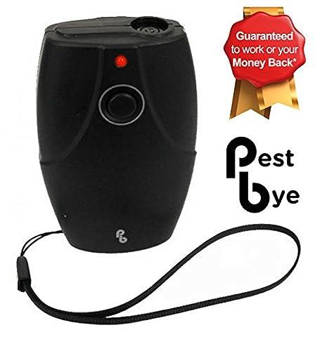 PestBye Advanced Portable Ultrasonic Dog Bark Deterrent (Bark Stopper) - Stop Dogs Barking