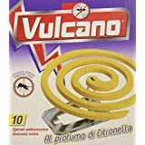 Spira Volcan, spirales parfumées Lot de 5packs de 10spirales tourbillons [50]