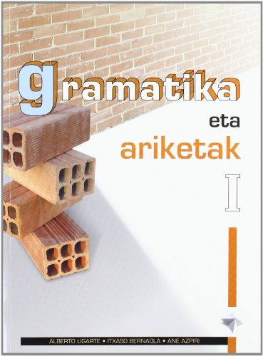 Portada del libro Gramatika eta ariketak I
