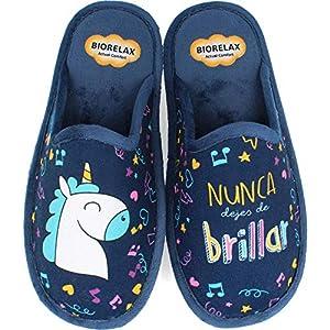 BioRelax - Zapatillas Mujer Unicornio