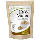Maca in Polvere Biologica (500 Grammi), MySuperFoods, Ricca di Sani Nutrienti, Antico Cibo Sano dal Perù, Delizioso Sapore di Malto, Certificato Biologico