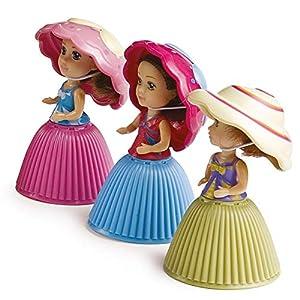 Grandes Juegos Cupcake Mini Muñeca Juego de 3Piezas,, gg00316