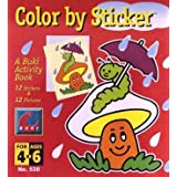 Buki Small Activity Book COLOR BY STICKER