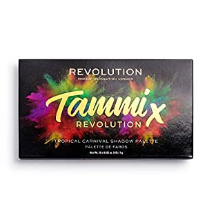 MAKEUP REVOLUTION Revolution X Tammi Tropical Carnival Palette, Multicolor Color, 18 g