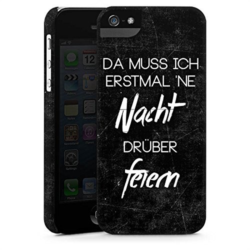 Apple iPhone X Silikon Hülle Case Schutzhülle Nacht Feiern Party Premium Case StandUp