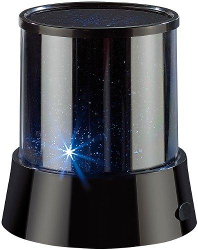 Lunartec Sternenhimmel Projektor: Mobiler Mini-Sterne-Projektor mit 3 Leuchtprogrammen (Sternenprojektor LED)