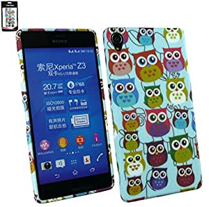 Emartbuy Gel Skin Case Cover Owls For Sony Xperia Z3
