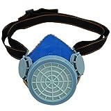 Smarstar Einzel Cartridge Industrielle Gas Chemical Anti-Dust Lackierung Atemschutzmaske - Blau