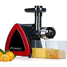 Extractor moussant Lent eléctrica de aobosi, presse-fruits Lent para el valor NUTRITIVE elevada, zumo de fruta y de hortalizas gastos con el zumo de zumo y la cepillo de limpieza