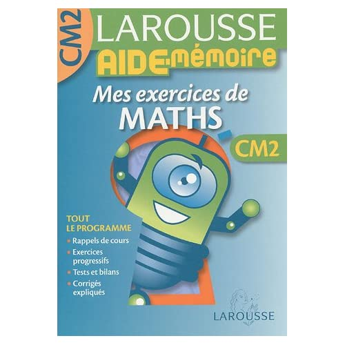 Mes exercices de Maths CM2