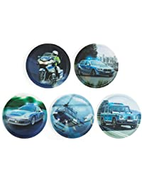 Ergobag Accessoires Klettbilder-Set 5-tlg Kletties Polizei 014 polizei