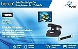 BB-EP/Thule 9710253939Complet Premium Acier Barres de Toit pour Suzuki Grand Vitara...