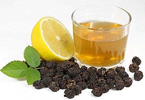 Lychee Black Dragon Pearls - Loose Leaf Black Tea - Bold Caffeine - Tealyra (110g / 4oz)