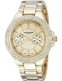 Akribos XXIV AK789YG - Reloj de cuarzo, color oro