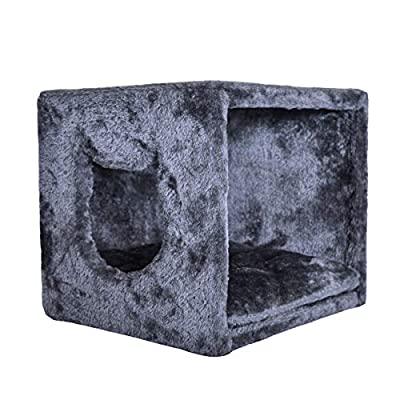 PetPäl Cat Bed Cave for Shelf | Cosy Design House for Large & Small Cats, Kitten | Perfetct for IKEA Kallax by PetPäl