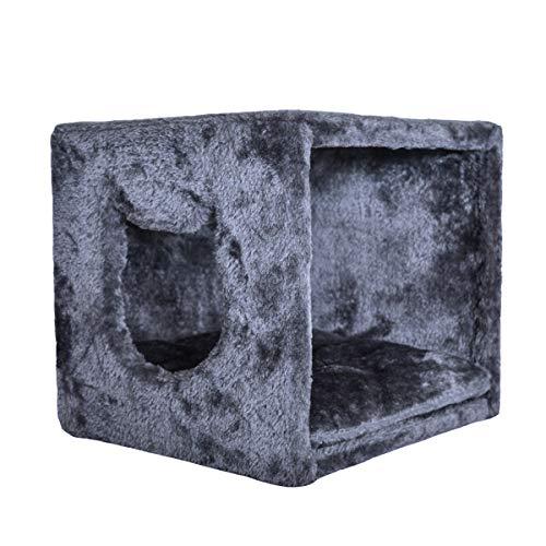 PetPäl Katzenhöhle für Regal | Design Katzen Kuschelhöhle Inklusive Kissen | Für Den Wohligen Schlafplatz Deiner Katze | Ideales Katzenbett für Regale wie IKEA Kallax & Expedit