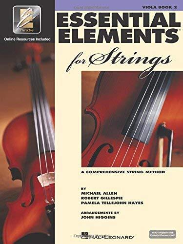 Essential Elements 2000 for Strings - Book 2: Viola with EEI by Robert Gillespie Pamela Tellejohn Hayes Michael Allen(2003-07-01)