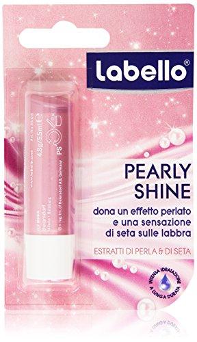 Labello - Effetto perlato labra, Dona una sensazione di Seta sulle labbra - 4.8 g