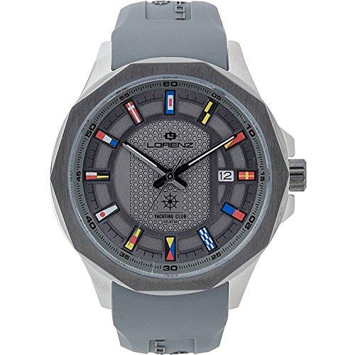 Reloj solo tiempo para hombre Lorenz Yachting Club Deportivo Cod. 030108bb