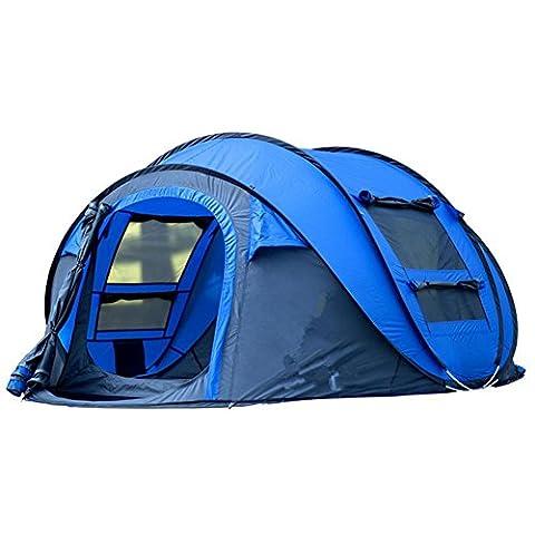 XG 3-4 personnes chambre automatique 2000-3000 mm FRP Oxford drap imperméable à l'eau tente de camping portable