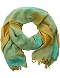 style3 Klassisch frischer Schal doubliert mit Karo- und Quadrat-Muster in verschiedenen Farben