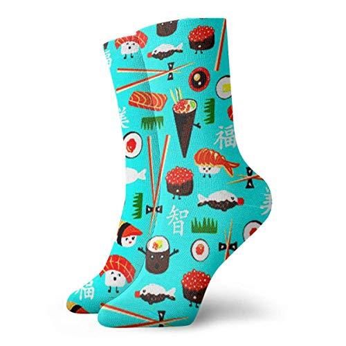 Sports Apparel Socks French Fries Cartoon Women & Men Socks Soccer Sock Sport Tube Stockings Length 11.8Inch