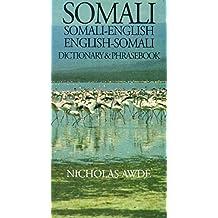 Somali-English, English-Somali Dictionary and Phrasebook (Hippocrene Dictionary & Phrasebook)
