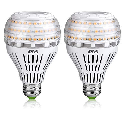 Sansi risparmio energetico lampade led 22 watt (200-150w equivalente) e27 3000lm lampadina led a21 non dimmerabile 3000k bianco calda