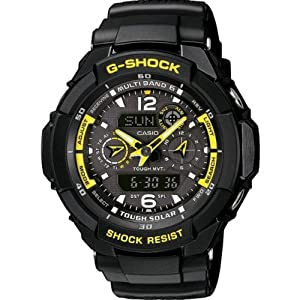Reloj de caballero CASIO GW-3500B-1AER de cuarzo, correa de resina color negro de Casio