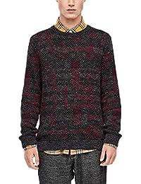 s.Oliver RED Label Herren Pullover mit Jacquard-Muster