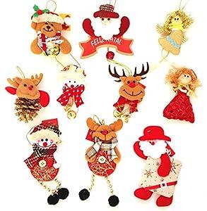 Adornos decoración colgante muñecos para
