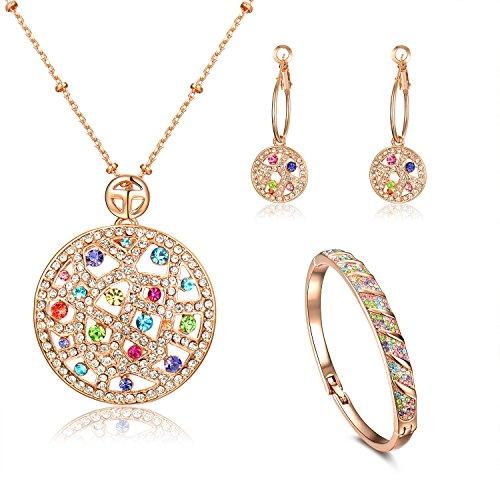 viki-lynn-srie-rainbow-parure-pour-femme-fille-bijoux-fantaisie-cristal-artificiel-avancemulticolore