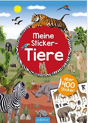 Meine Sticker-Tiere: Mit über 400 Stickern (Mein Stickerbuch) -