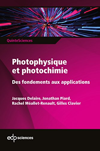 Photophysique et photochimie : Des fondements aux applications