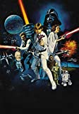 Generic Star Wars Film Foto Poster Vintage Textless Film Kunst A New Hope 003 (A5-A4-A3) - A5