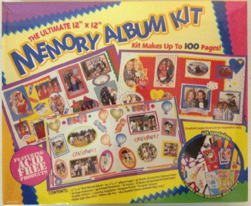 Memory Album Kit by The Ultimate 12 x 12Memory Album Kit