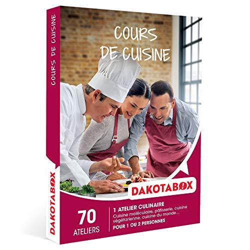 DAKOTABOX - Cours de cuisine - Coffret Cadeau Gastronomie - 1 cours de cuisine pour 1...