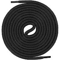 Mount Swiss Premium-Schnürsenkel, Rundsenkel für Arbeits- und Trekkingschuhe aus 100% Polyester, extrem reißfest, ø 5 mm, 12 Farben, Längen 60-200 cm