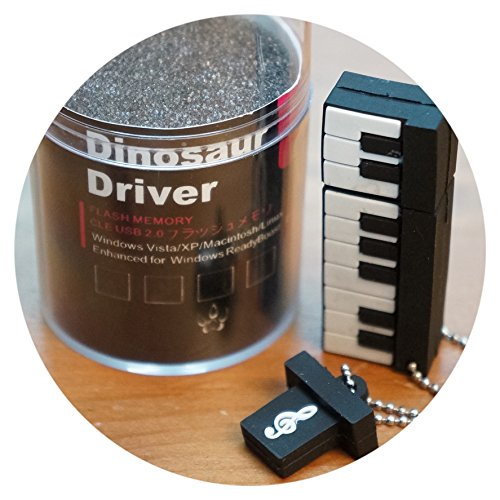 Memoria Usb 8 Gb Dinosaur Driver Teclado Musical Pendrive Usb 2.0 Flash...