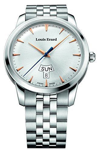 Louis Erard Heritage Collection Swiss Quartz Silver Dial Mens Watch 15920AA11.BMA39