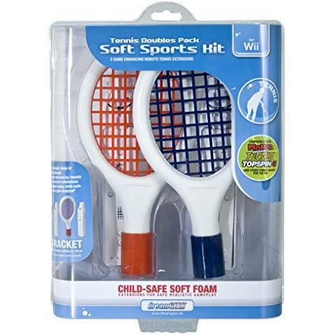 Wii Tennis Double Pack Soft Sport Kit by dreamGEAR