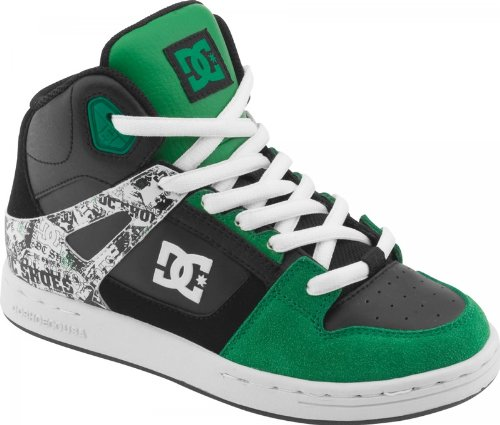 DC Shoes Rebound Youth Shoe D0302676B, Baskets mode garçon