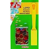 Kim'Play - Recogedor de fichas de lotería con 100 fichas magnéticas [Importado de Francia]